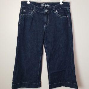 Kut from the Kloth size 8 wide leg capri jeans